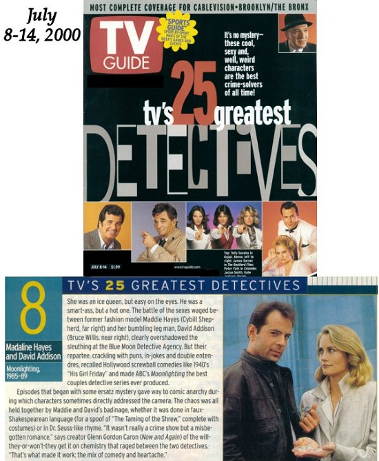 TV Guide Tv's 25 Greatest Detectives