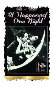 The classic early screwball romantic comedy, It Happened One Night