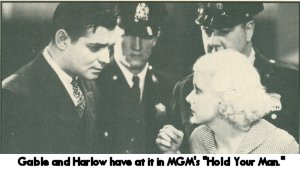 Gable and Harlow in Hold Your Man