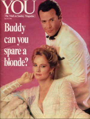 Cover of You June 29, 1986 with Bruce & Cybill