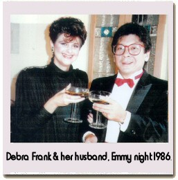 Debra Frank and husband, Mark Masuoka.