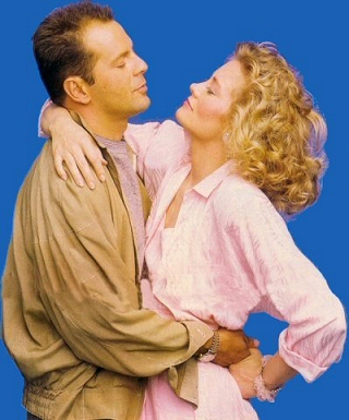 DavidAndMaddie.com - Moonlighting Bruce Willis and Cybill Shepherd TV series