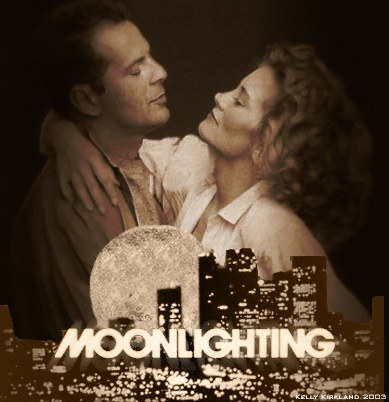 Moonlighting Artwork by Kelly